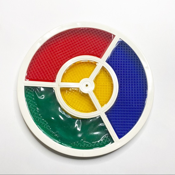 """Vintage 12"""" Color Wheel Light For Silver Christmas"""